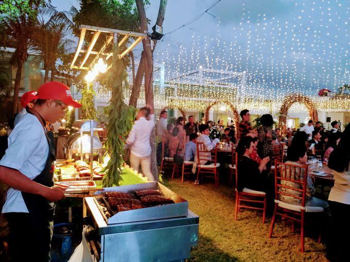 Live Grilled BBQ Station At Villa Ombak Biru by Wahaha Pork Ribs - 018