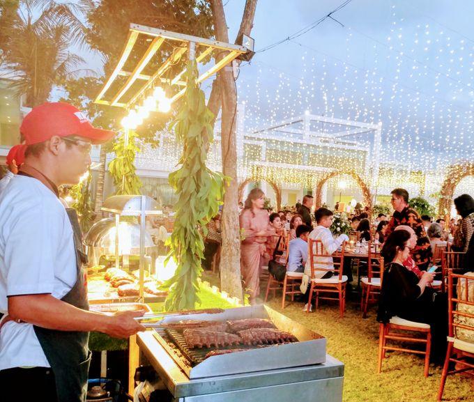 Live Grilled BBQ Station At Villa Ombak Biru by Wahaha Pork Ribs - 007
