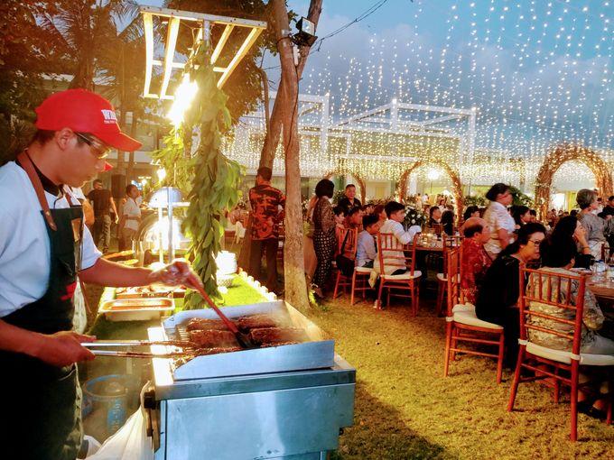 Live Grilled BBQ Station At Villa Ombak Biru by Wahaha Pork Ribs - 030