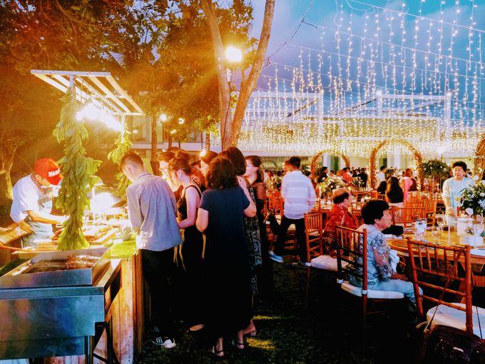 Live Grilled BBQ Station At Villa Ombak Biru by Wahaha Pork Ribs - 022
