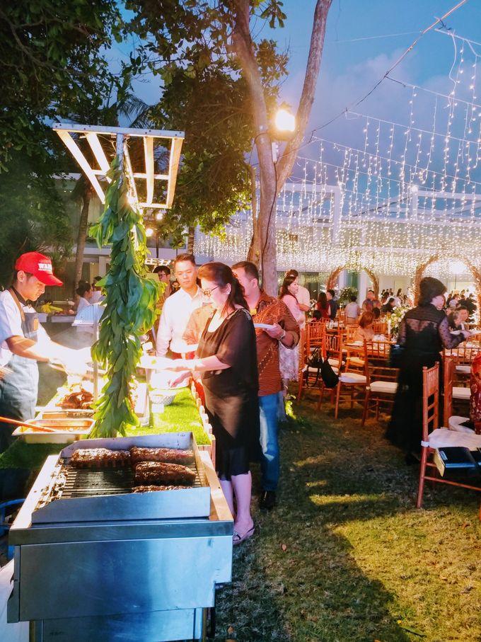 Live Grilled BBQ Station At Villa Ombak Biru by Wahaha Pork Ribs - 014