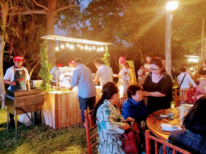 Live Grilled BBQ Station At Villa Ombak Biru by Wahaha Pork Ribs - 036