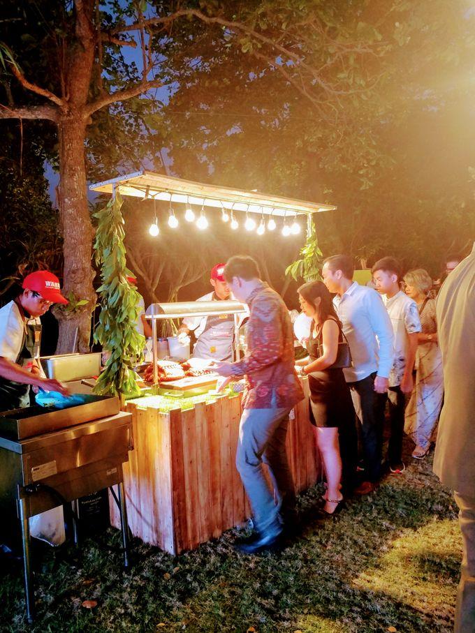 Live Grilled BBQ Station At Villa Ombak Biru by Wahaha Pork Ribs - 008