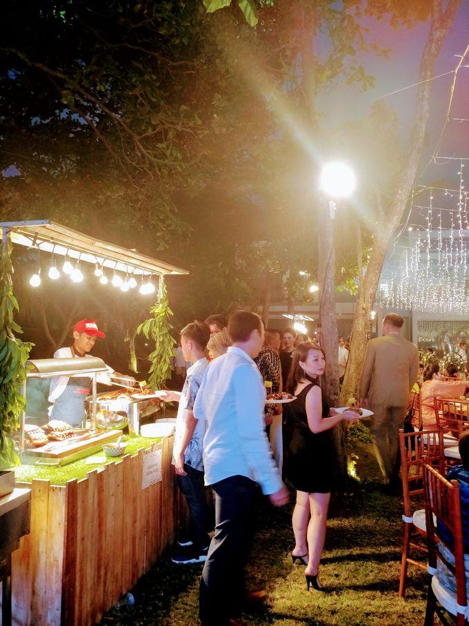 Live Grilled BBQ Station At Villa Ombak Biru by Wahaha Pork Ribs - 001