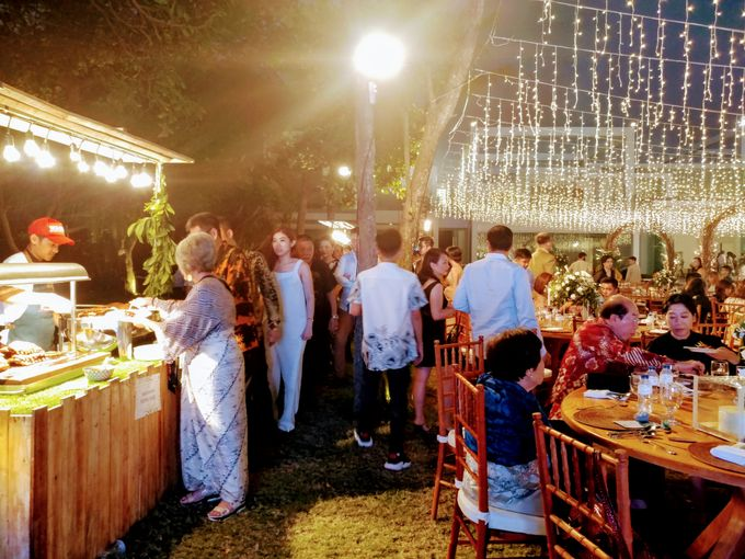 Live Grilled BBQ Station At Villa Ombak Biru by Wahaha Pork Ribs - 025