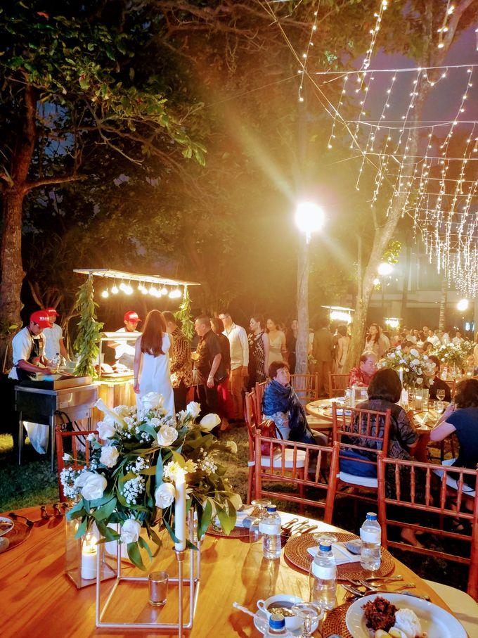 Live Grilled BBQ Station At Villa Ombak Biru by Wahaha Pork Ribs - 026