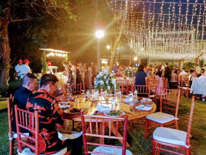 Live Grilled BBQ Station At Villa Ombak Biru by Wahaha Pork Ribs - 041