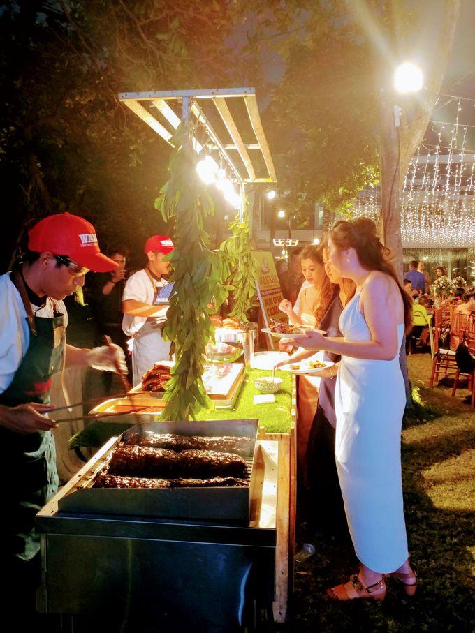 Live Grilled BBQ Station At Villa Ombak Biru by Wahaha Pork Ribs - 005