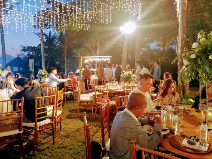 Live Grilled BBQ Station At Villa Ombak Biru by Wahaha Pork Ribs - 043