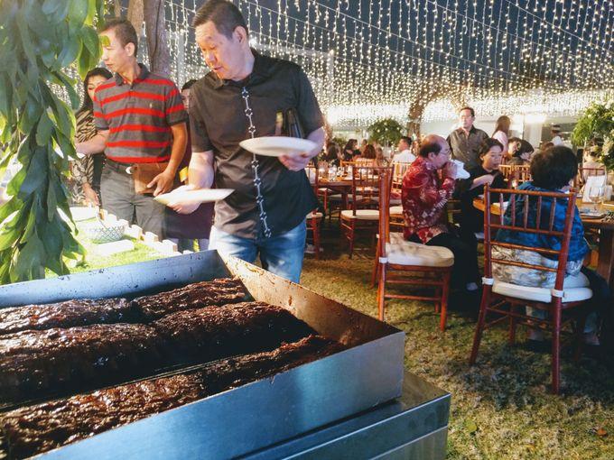 Live Grilled BBQ Station At Villa Ombak Biru by Wahaha Pork Ribs - 015