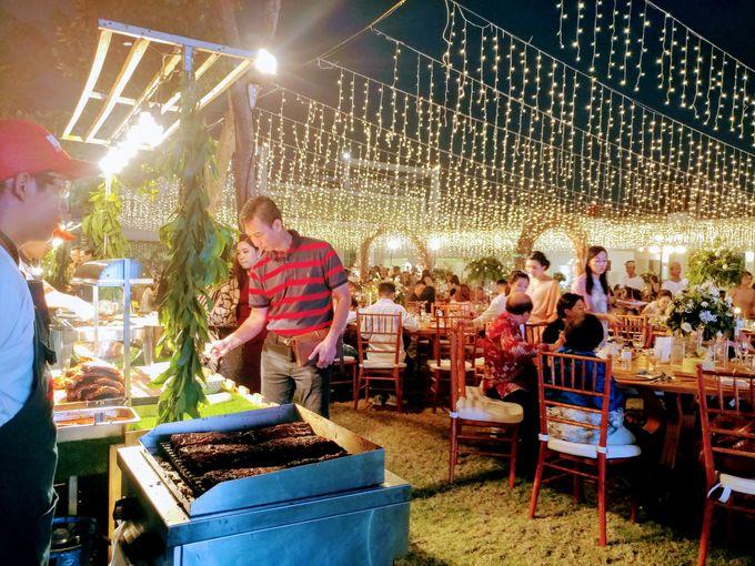 Live Grilled BBQ Station At Villa Ombak Biru by Wahaha Pork Ribs - 033