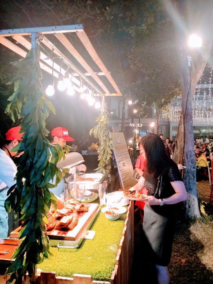 Live Grilled BBQ Station At Villa Ombak Biru by Wahaha Pork Ribs - 011