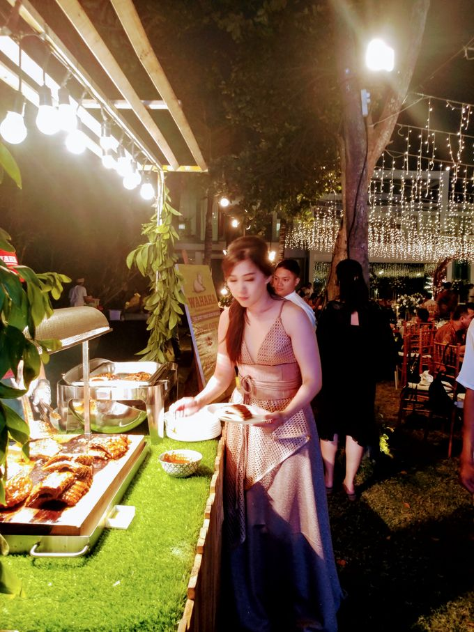 Live Grilled BBQ Station At Villa Ombak Biru by Wahaha Pork Ribs - 003