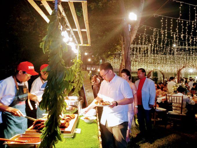 Live Grilled BBQ Station At Villa Ombak Biru by Wahaha Pork Ribs - 021
