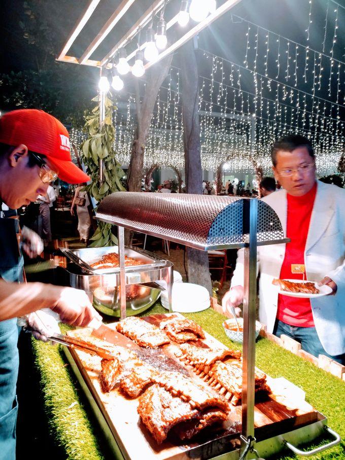 Live Grilled BBQ Station At Villa Ombak Biru by Wahaha Pork Ribs - 012