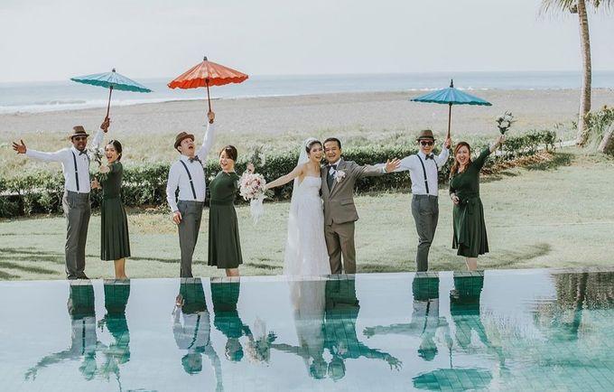 The Wedding Cake Of Sandy & Verita by Moia Cake - 004