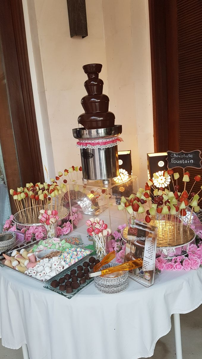Chocolate Fountain For Wedding, Birthday,Gathering by The Chocolate Land - 003
