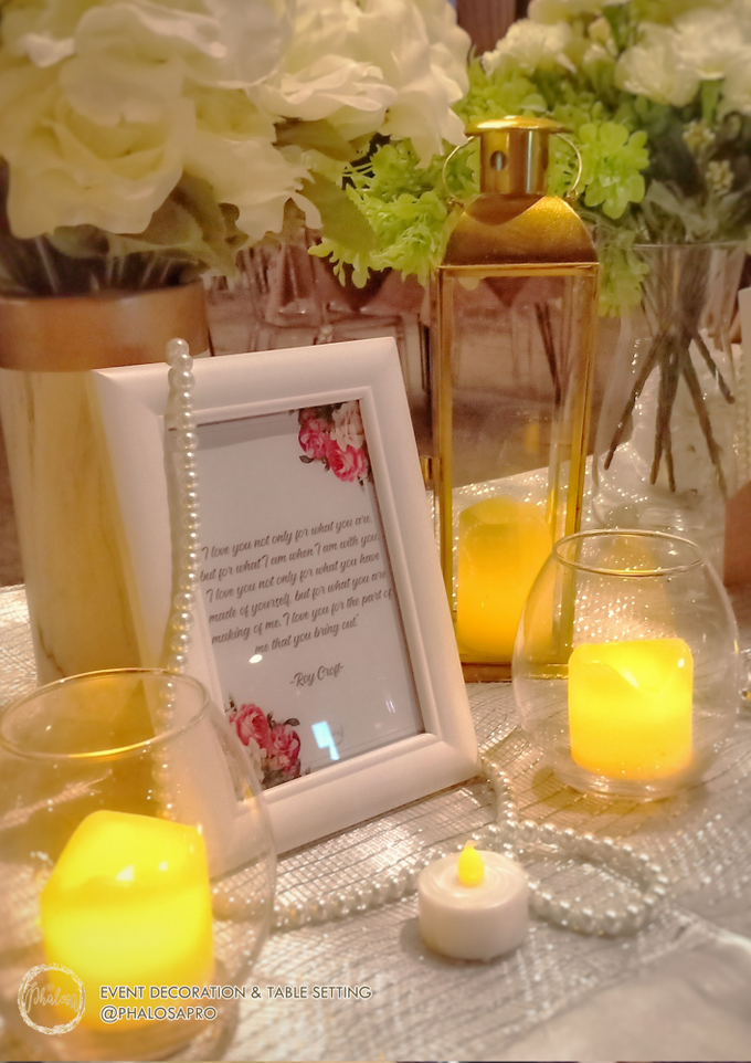 Ronny & Kristin Anniversary Dinner by Phalosa Event Decoration & Table Setting - 007
