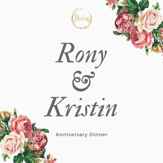 Ronny & Kristin Anniversary Dinner by Phalosa Event Decoration & Table Setting - 002