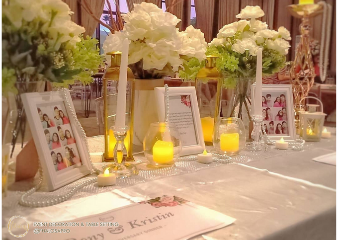 Ronny & Kristin Anniversary Dinner by Phalosa Event Decoration & Table Setting - 003