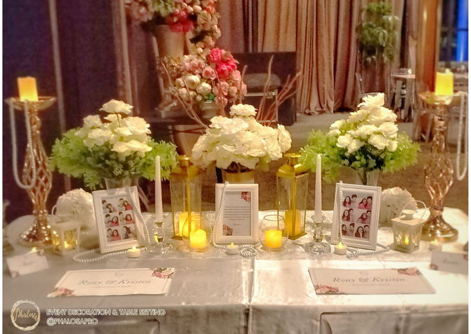 Ronny & Kristin Anniversary Dinner by Phalosa Event Decoration & Table Setting - 009