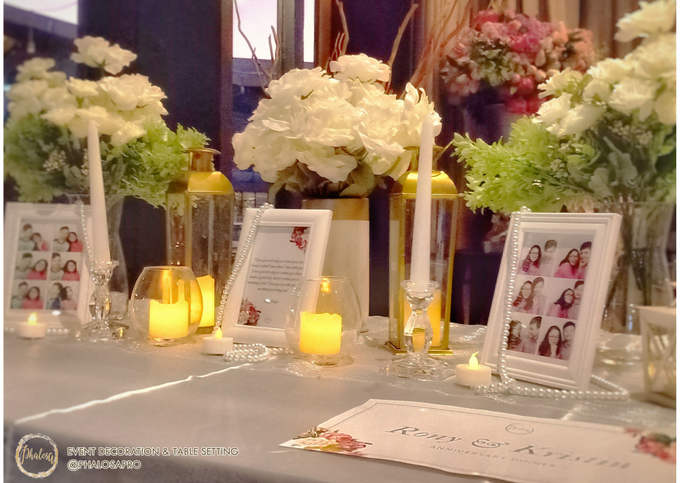 Ronny & Kristin Anniversary Dinner by Phalosa Event Decoration & Table Setting - 006