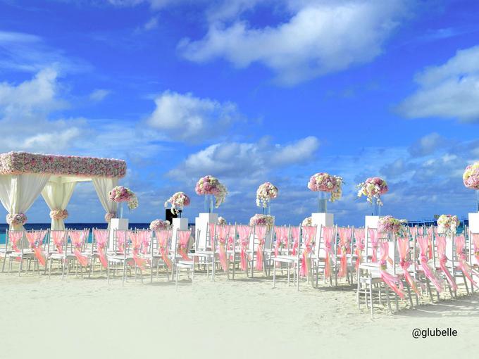A Pink Blush Wedding Theme by GLUBELLE - 001