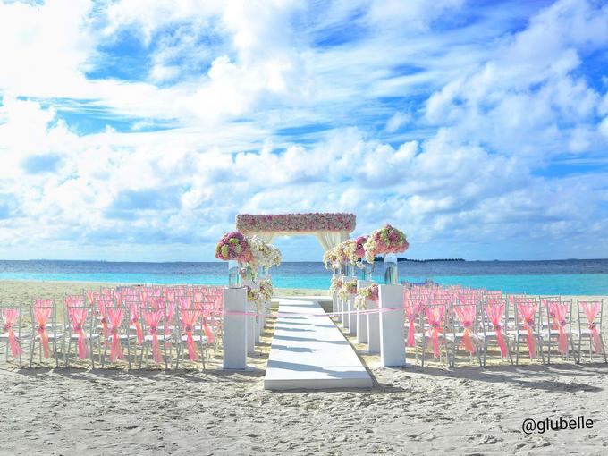 A Pink Blush Wedding Theme by GLUBELLE - 005
