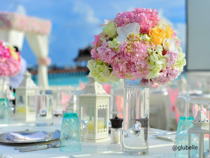 A Pink Blush Wedding Theme by GLUBELLE - 002