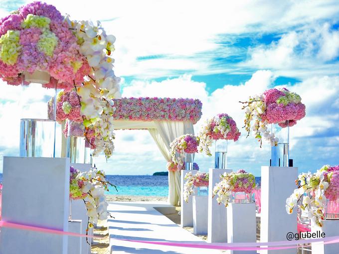 A Pink Blush Wedding Theme by GLUBELLE - 003