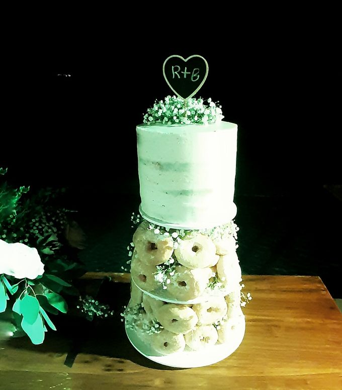 The Wedding Cake Of R + B by Moia Cake - 004