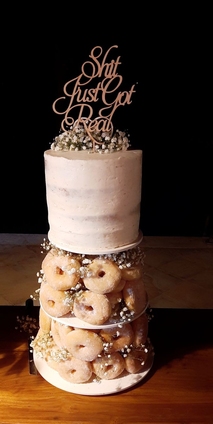 The Wedding Cake Of R + B by Moia Cake - 012