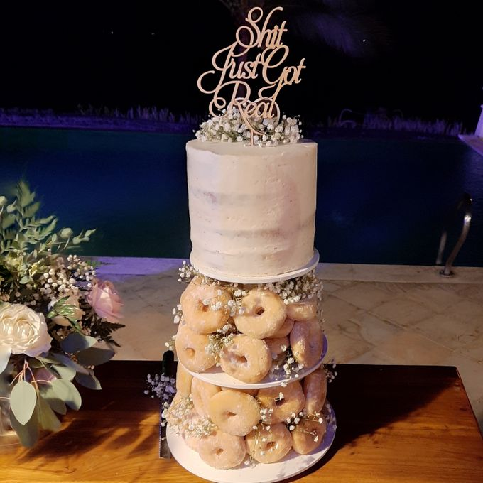 The Wedding Cake Of R + B by Moia Cake - 014