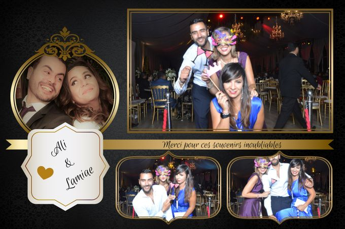 Wedding Lamia & Ali by Selfie Box - 002