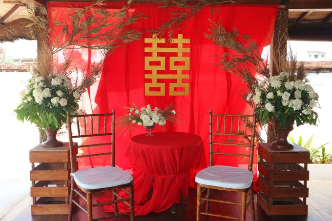 Wedding Nao & Tata - Majapahit Villa 13.10.2019 by Bali Bless Florist - 008