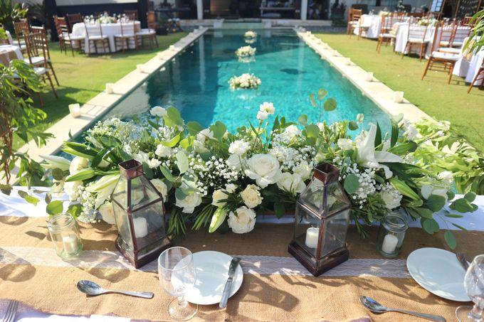 Wedding Nao & Tata - Majapahit Villa 13.10.2019 by Bali Bless Florist - 003