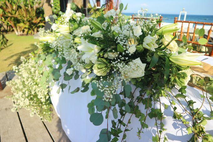 Wedding Nao & Tata - Majapahit Villa 13.10.2019 by Bali Bless Florist - 006