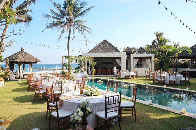 Wedding Nao & Tata - Majapahit Villa 13.10.2019 by Bali Bless Florist - 002