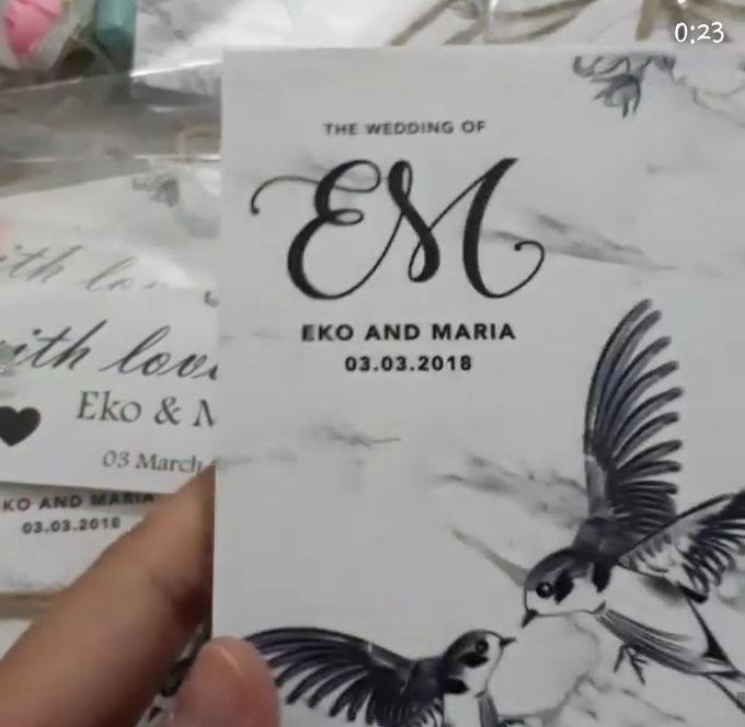 The Wedding of Eko & Maria by Angie's Cake - 005