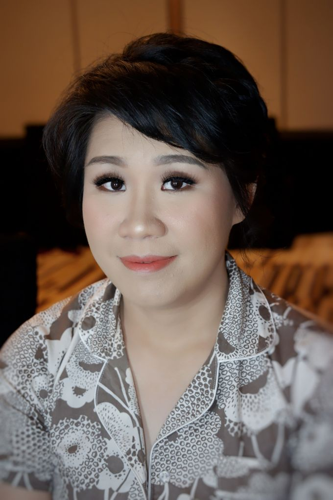 Makeup And Hairdo For Bridesmaids by Nike Makeup & Hairdo - 002