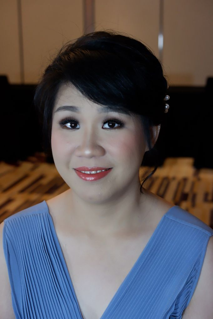 Makeup And Hairdo For Bridesmaids by Nike Makeup & Hairdo - 003