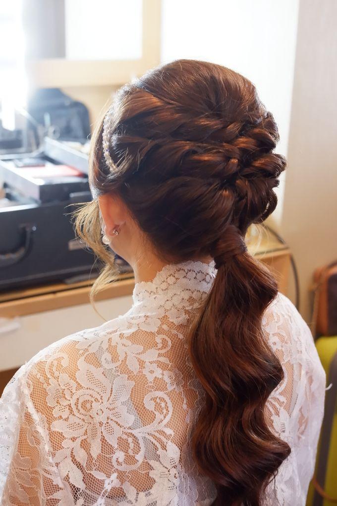 Wedding Makeup & Hairdo For Elfina by Nike Makeup & Hairdo - 009