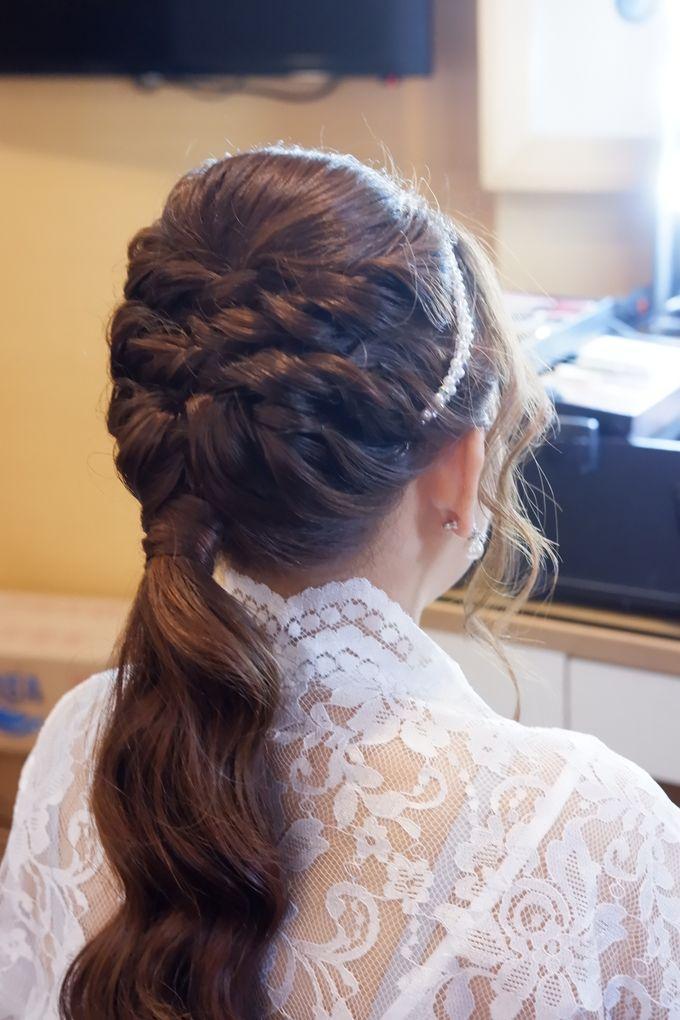 Wedding Makeup & Hairdo For Elfina by Nike Makeup & Hairdo - 006