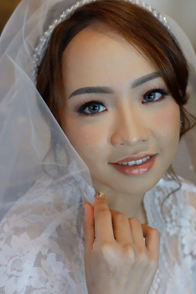 Wedding Makeup & Hairdo For Elfina by Nike Makeup & Hairdo - 001
