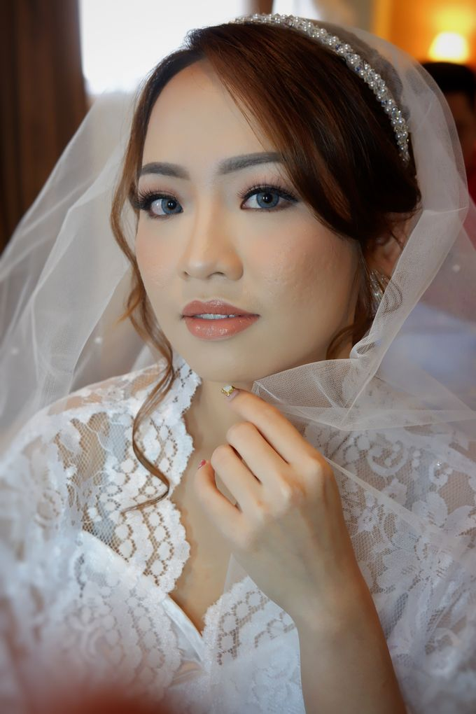 Wedding Makeup & Hairdo For Elfina by Nike Makeup & Hairdo - 003