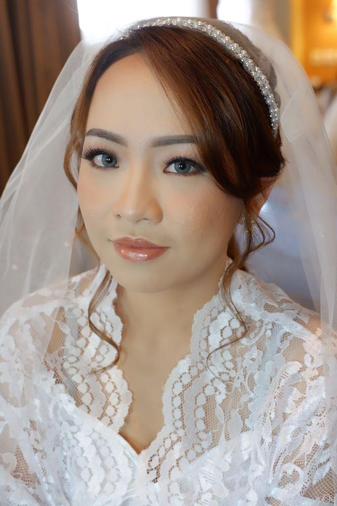 Wedding Makeup & Hairdo For Elfina by Nike Makeup & Hairdo - 004