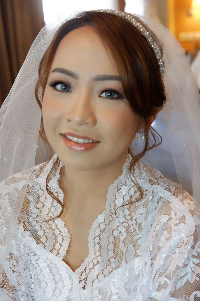 Wedding Makeup & Hairdo For Elfina by Nike Makeup & Hairdo - 008