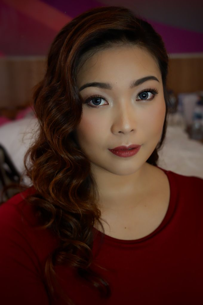 Makeup & Hairdo for Ms. Maureen by Nike Makeup & Hairdo - 002