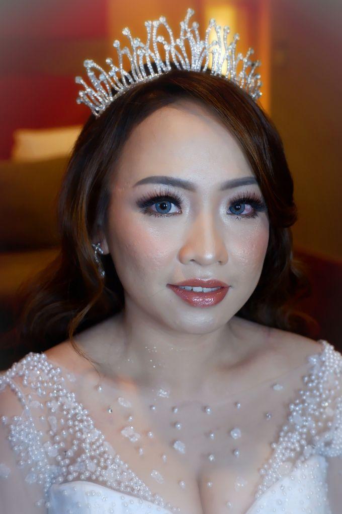 Wedding Makeup & Hairdo For Elfina by Nike Makeup & Hairdo - 011