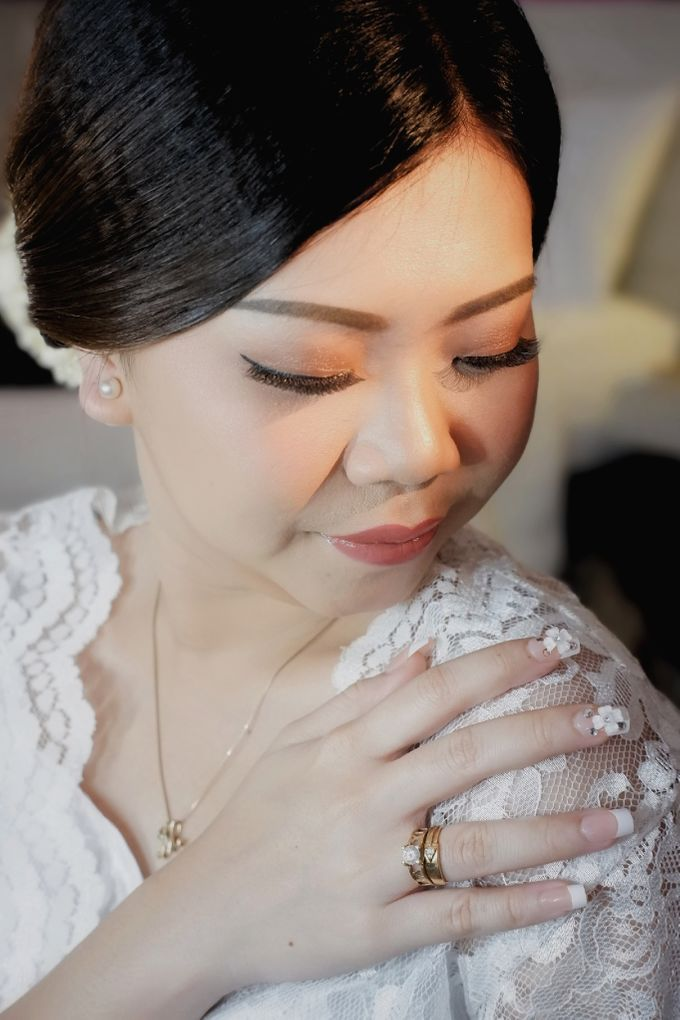 My Beautiful bride, Marlena by Nike Makeup & Hairdo - 004
